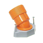Temporary frame bushing 45° (CD tube and compact type) G type