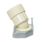 Temporary frame bushing 45° (PF tube and compact type) G type