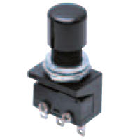 Ultra-Small Size Push Button Switch (Round Body Shape ⌀10.5) A2A