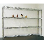 Laboratory Table Shelf Set