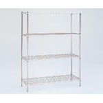 Stainless Steel Erector Shelf Standard Set