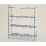 Chrome Plated Antibacterial Clear Coating Finish Column for Erecta