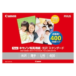 Photographic Paper, Glossy Standard, L Size, 400 Sheets