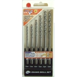 Concrete Drill Blade Set (6 Pcs)