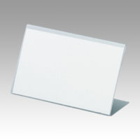 L-Type Card Stand, Recycled PET