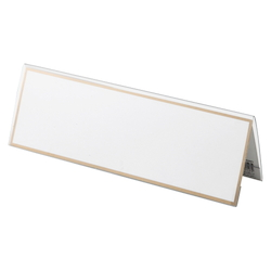 Card Stand V Type PET Outer Dimensions: Width 250 x Height 83 mm