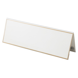 Card Stand V Type PET Outer Dimensions: Width 300 x Height 103 mm