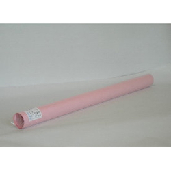 Butcher's Paper with Grid, 5 Cut Sheets Roll, Pink