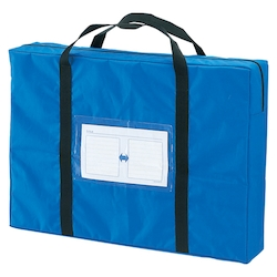 Mail Bag, Large, Double Fastener, Blue