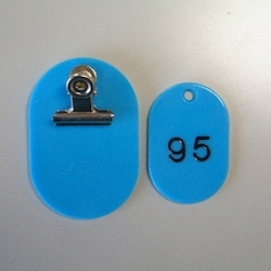 Parent/Child Tags, Continuous Numbers 51-100 Empty