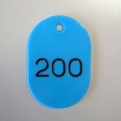Large Number Ticket, Serial 151-200 Empty