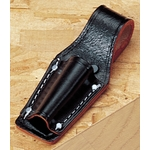 Black Split Leather Pliers Sheath for 7 Inch