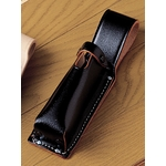 Black Split Leather Electric Lamp Case