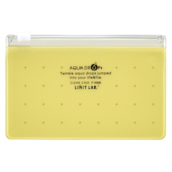 Clear Case, A8 Wide, Yellow