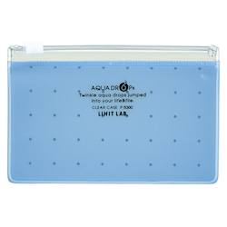 Clear Case, A8 Wide, Blue