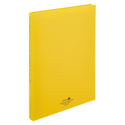 Clear Book, Pocket Interchangeable Type, 30P, Yellow