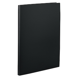 Clear Book, Pocket Interchangeable Type, A4, Black
