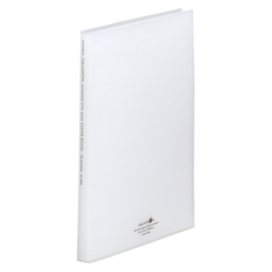 Clear Book, Off White
