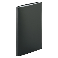 Clear Book A4, 40 Leaves, Black