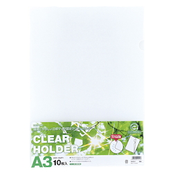 Request Clear Holder, A3 10P Milky White