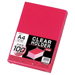 Request Clear Holder, Pink