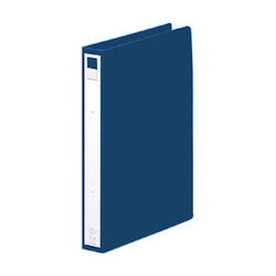 Ring File A4 Portrait Type (Spine Width 36 mm) Navy Blue