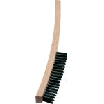 4 Rows, Hand Brush with Long Wooden Handle