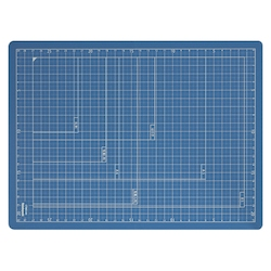 Folding Cutting Mat A4 Dark Blue