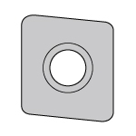 Base Blade Insert for Coromill 690