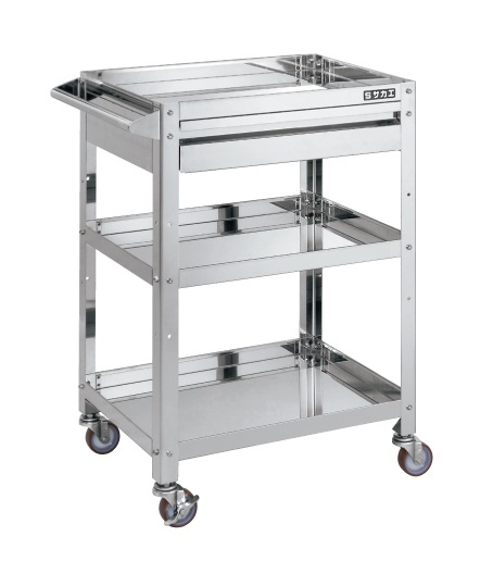 With Stainless Steel Super Wagon Drawer