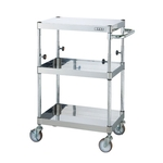 New Pearl Utility Cart Height-adjustable with Upper Part