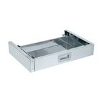 Stainless Steel Special Utility Cart Optional Drawer