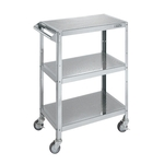 Stainless Steel Perforated Shelf Wagon