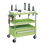 Tool Rack Cart (New Pearl Wagon with Drawer Type)