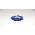 Grit Press Wheel Brush with Abrasive Grains #180