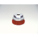 Grit Cup Brush with Abrasive Grains #60
