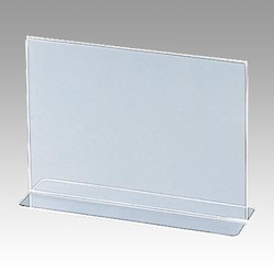 A5 Double-Sided Horizontal Sign Stand