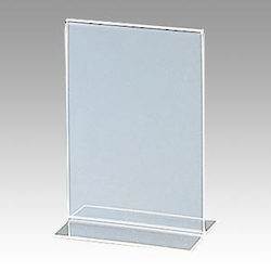 A6 Double-Sided Vertical Sign Stand