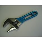 Wide Monkey Wrench, Short Type (with Color Grip)
