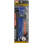 Color Hex & Ball Point Wrench Set (9 PCS)