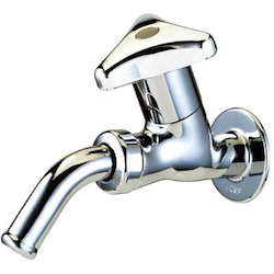 Euros Wall Faucet with Rotating Spout