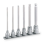 Long Ball Point Hexagonal Socket Set (with Holder) HBH306L