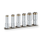 Nut Capture Deep Socket Set (Hexagonal / with Holder) HSCL306
