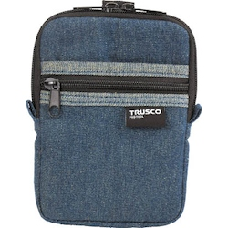 Denim Compact Case