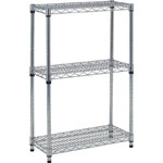 Steel Mesh Shelf Rack