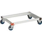 Aluminum Dolly for Storage Box (Air Caster Specification)