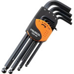 Ball Point Hex Wrench Black Dye