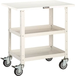 Birdy Utility Cart (Urethane Casters, Top Panel Board)