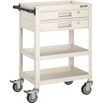 Birdy Utility Cart (Urethane Casters, 2 Drawer)