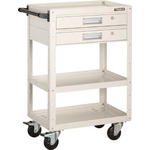 Eagle Wagon (4 Rubber Swivel Caster Wheels, 2 Drawer)